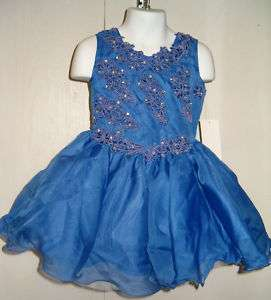 GIRLS SIZES 3   12 NATIONAL PAGEANT GLITZ PAGEANT DRESS