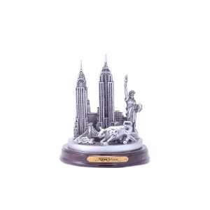 Classic New York City Skyline Landmark Statue Replica Sculpture
