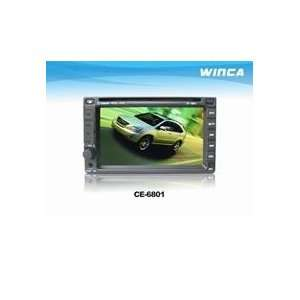 Double Din Car DVD with 6.2inch LCD,with Bluetooth Car
