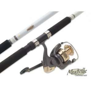 South Bend Mudville Medium Heavy Spin Rod, 2 Piece (7 Feet