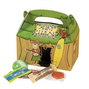 Beach Monkey Tropical Hut Treat Boxes   Party Favor & Goody Bags