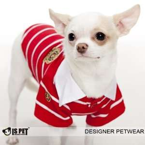Is Pet Designer Dog Apparel   Morty Polo Shirt   Color