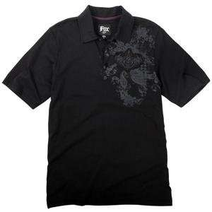 Fox Racing Warlock Polo   Large/Black Automotive