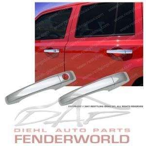 JEEP PATRIOT 07 08 CHROME DOOR HANDLES COVERS TRIM