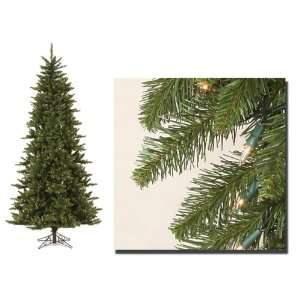 7.5 Pre Lit Camdon Fir Artificial Christmas Tree   Clear