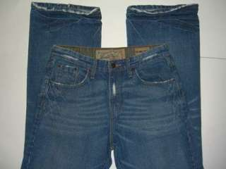 LEVI STRAUSS Signature Low Rise Boot Cut Mens Jean Size 30 X 32