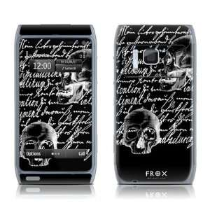 Liebesbrief Black Design Protective Decal Skin Sticker for