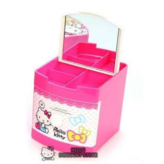 Hello Kitty Multi Jewelry Case / Box/ Desk Organizer  Ribbon