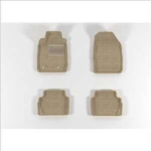MAXpider Molded Beige Carpet Floor Mats 11 Ford Fiesta Automotive