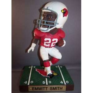 NFL CARDINALS GAME BREAKERS UD EMMITT SMITH FIGURINE