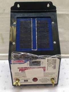 Fi Shock SS 440 Solar Powered Impedance 10 Acre Med Duty Electric