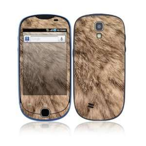 Rabbit Fur Decorative Skin Cover Decal Sticker for Samsung