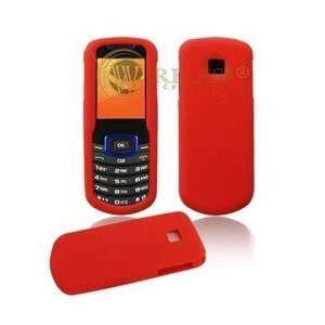 Red Soft Silicone Gel Skin Cover Case for Samsung Stunt R100 [Beyond