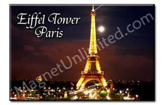Eiffel Tower   Paris France Souvenir Fridge Magnet #1