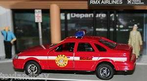 Cruiser 1/43 Scale Diecast Fire Department Ford Crown Victoria MINT
