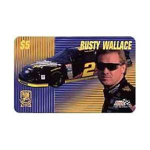 Card PhonePak 1996 $5. Rusty Wallace (Miller Beer)