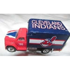 Cleveland Indians 1996 Matchbox Truck 1/64 Scale Diecast Car MLB