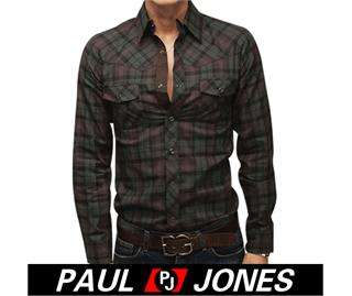 Men's Fashion Casual Slim fit Stylish Dress checkered Shirts fancy