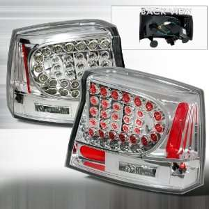 2005 2007 Dodge Charger Led Tail Lights Chrome Automotive