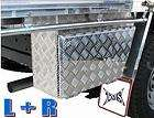 LEFT & RIGHT ALUMINUM TRUCK PICKUP RV TOOL BOX STORAGE UNDERBODY UNDER