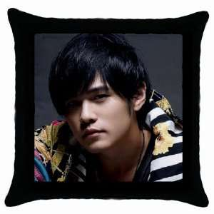 Chinese Pop Star Cute Jay Chou Throw Pillow Case Kitchen