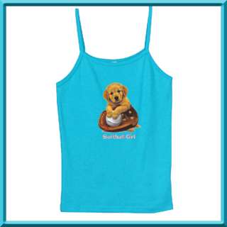 Retriever Puppy Dog WOMENS RIBBED TANK TOPS S,M,L,XL,2X New