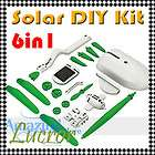 Brand New 6 in 1 Educational Solar DIY Toy Kit Boat Fan Car Robot