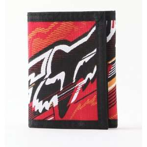 Fox Racing Flash Wallet Red No Size Automotive
