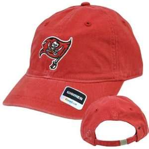 NFL Tampa Bay Buccaneers Red Black Relaxed Fit Womens Ladie Reebok