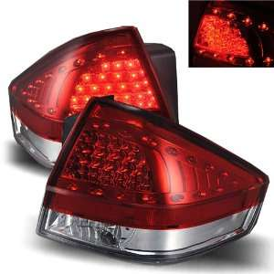 2008 2011 Ford Focus LED Tail Lights (Red/Clear