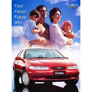 1998 Ford Falcon Australian Original Sales Brochure