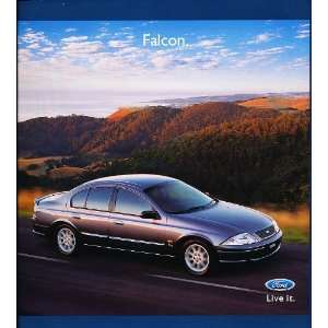 2001 Ford Falcon Australian Original Sales Brochure