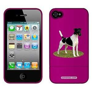 Smooth Fox Terrier on AT&T iPhone 4 Case by Coveroo