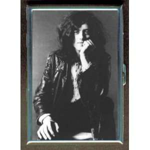 JIMMY PAGE OF LED ZEPPELIN ID CIGARETTE CASE WALLET