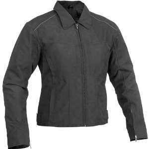 RIVER ROAD WOMENS TOPAZ JACKET (SMALL) (BLACK