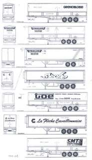 Colorado Decals N TRUCK SEMI TRAILER MARKINGS #2