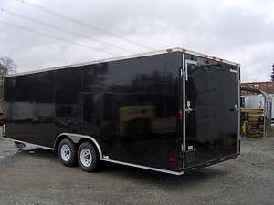 24 car hauler enclosed motorcycle cargo trailer NEW 26