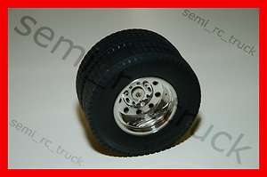 New Tamiya 1/14 Semi Truck Rear Wheels