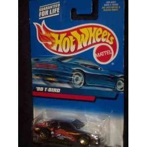 102 1990 T Bird Collectible Collector Car Mattel Hot Wheels 164 Scale