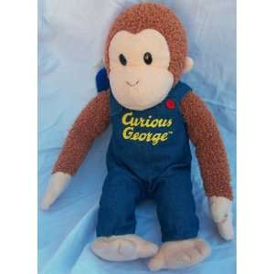 13 Plush Curious George Doll Toy By Applause Toys & Games