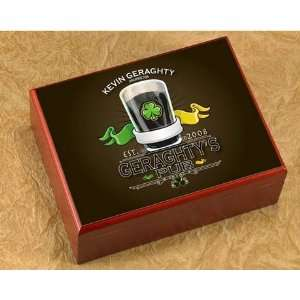 Irish Pub Personalized Humidor
