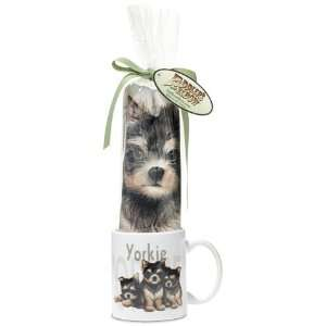 ~~ Yorkie Yorkshire Terrier Puppy Dog Breed Gift Set