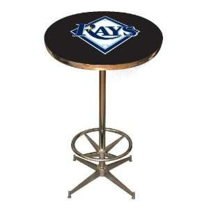 Tampa Bay Rays 40in Pub Table Home/Bar Game Room