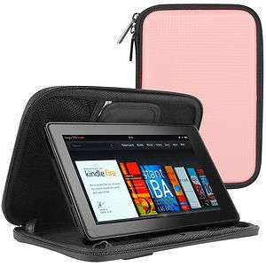 CaseCrown Hard Book Cover Case for  Kindle Fire (Pink)