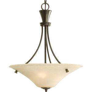 Progress Lighting Cantata Collection Forged Bronze 3 light Foyer