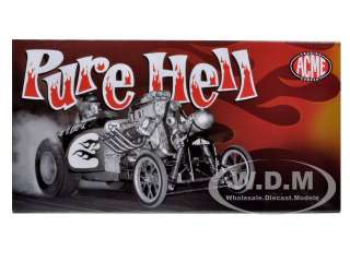model car of Pure Hell Fuel Altered die cast car model by Acme
