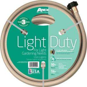 Apex 5/8 in. x 50 ft. Light Duty Water Hose 8400 50