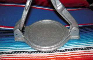Hamburger Press, Gorditas Cast Aluminum, Heavy Duty