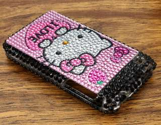 Hello Kitty Diamond Bling Case Cover for iPhone 3G 3GS