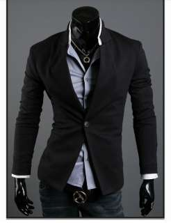 Unique New Roma Suit Mens Stylish One Button Slim Fit Jacket Suit Free